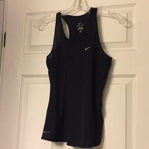Nike mesh racerback tank